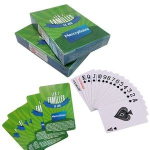 Full Color Printing Poker Size Playing Cards
