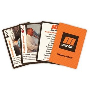 Custom Faces Playing Cards Cello Wrap